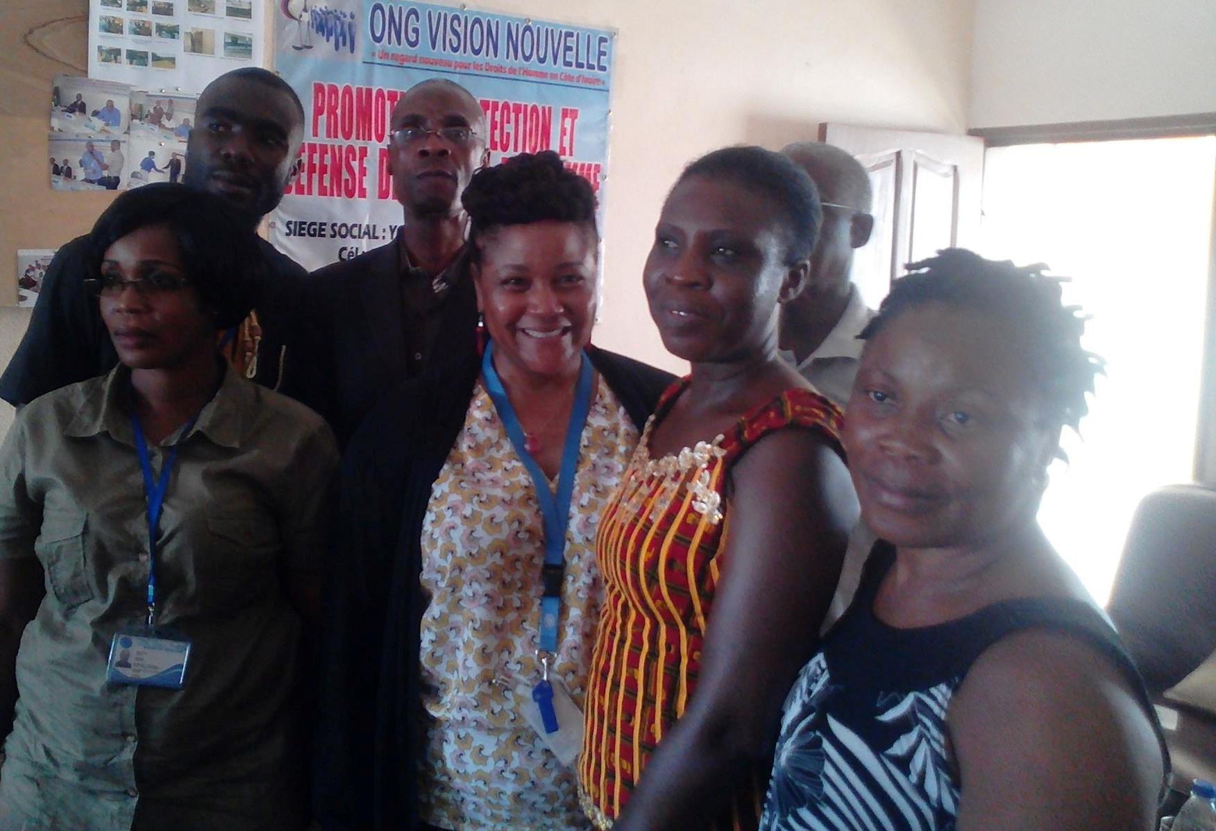 Réception d'une équipe de communication du conseil des droits de l'homme