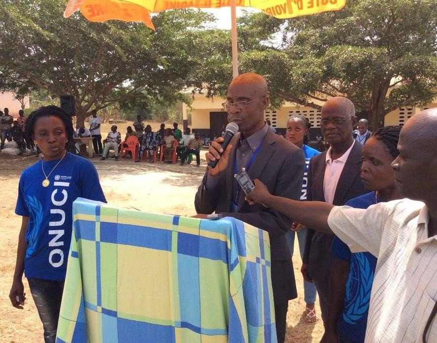 Intervention du Président Kougbo de VNDH