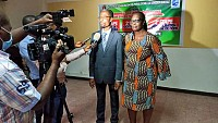 26 janvier 2021, Conférence au musée des civilisations à Abidjan plateau