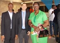 Don aux détenus (femmes et hommes) de la prison d'Abidjan
